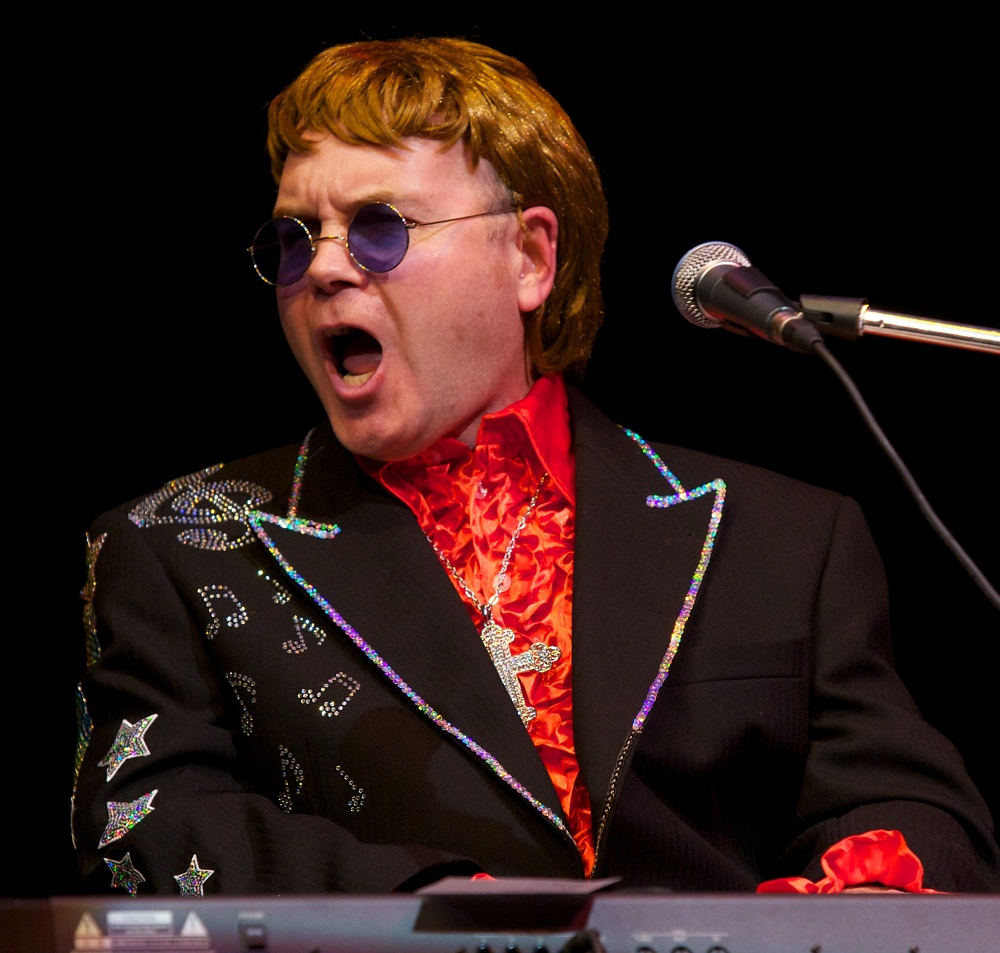 Elton John tribute act